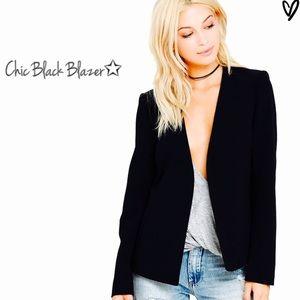 🔥 trend setter || Black Blazer ||